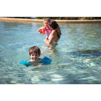 Brassards natation roses en mousse - 1277316
