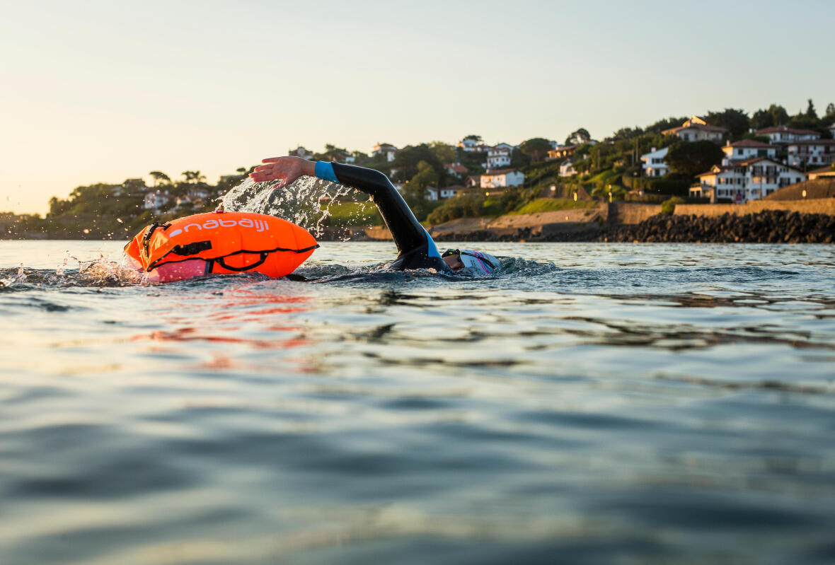 What is open water swimming?