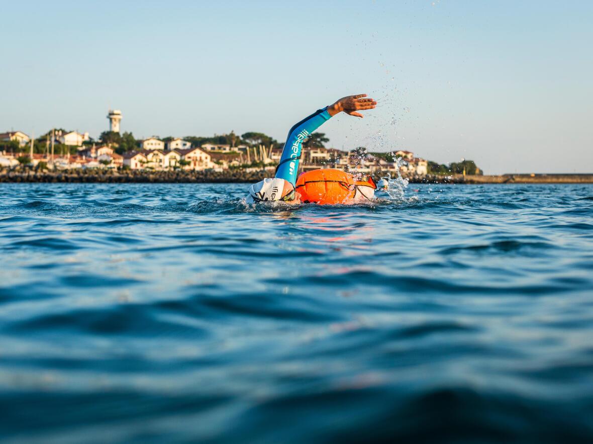 Nager en mer : Comment préparer sa séance