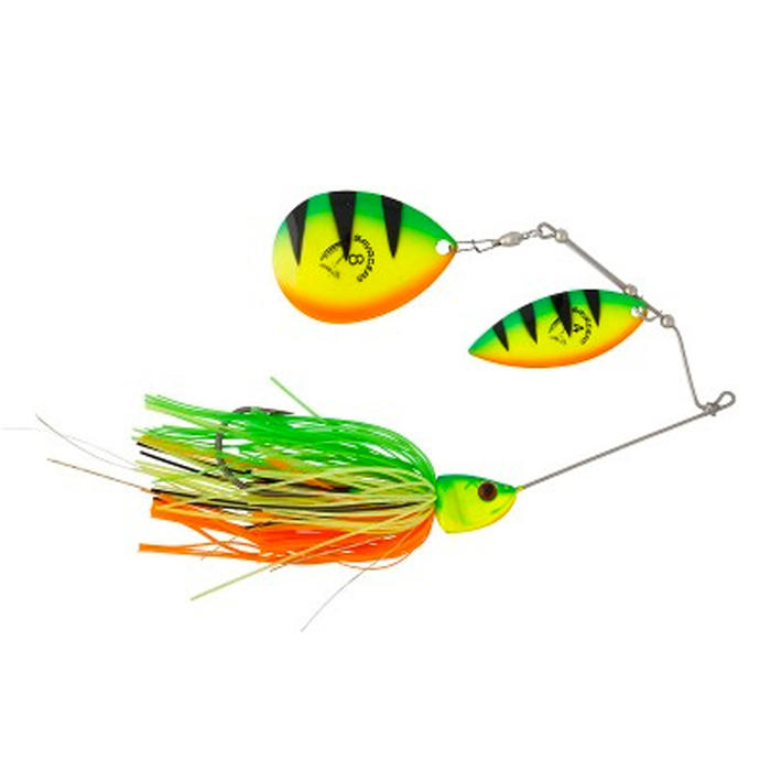 Spinnerbait voor roofvissen Da Bush 42 g Fire Tiger