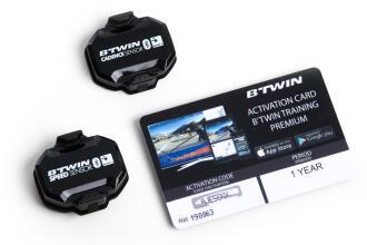 B'TWIN Sensor de velocidad y ritmo BT & ANT+