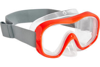 snk 500 mask orange fluo