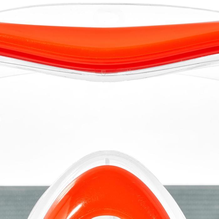 Duikbril SNK 500 voor snorkelen, kinderen en volwassenen fluorood - 1277616