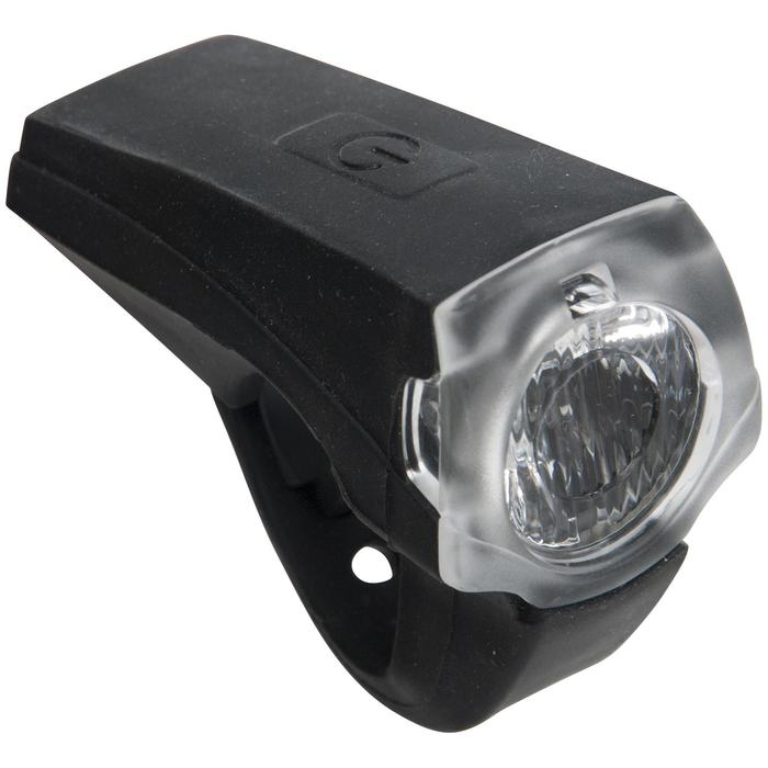 ECLAIRAGE VELO LED VIOO ROAD 900 AVANT NOIR USB - 1277704
