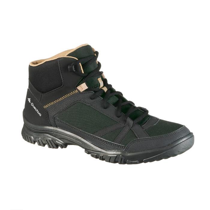 Chaussure de randonnée nature NH100 mid noire homme - 1277743