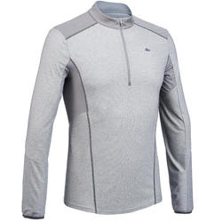 Men's Long-Sleeved Mountain Walking T-Shirt - MH550