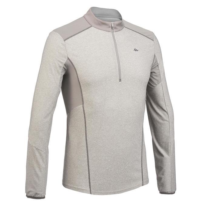Tee Shirt Randonnée montagne MH550 manches longues 1/2zip homme - 1277876