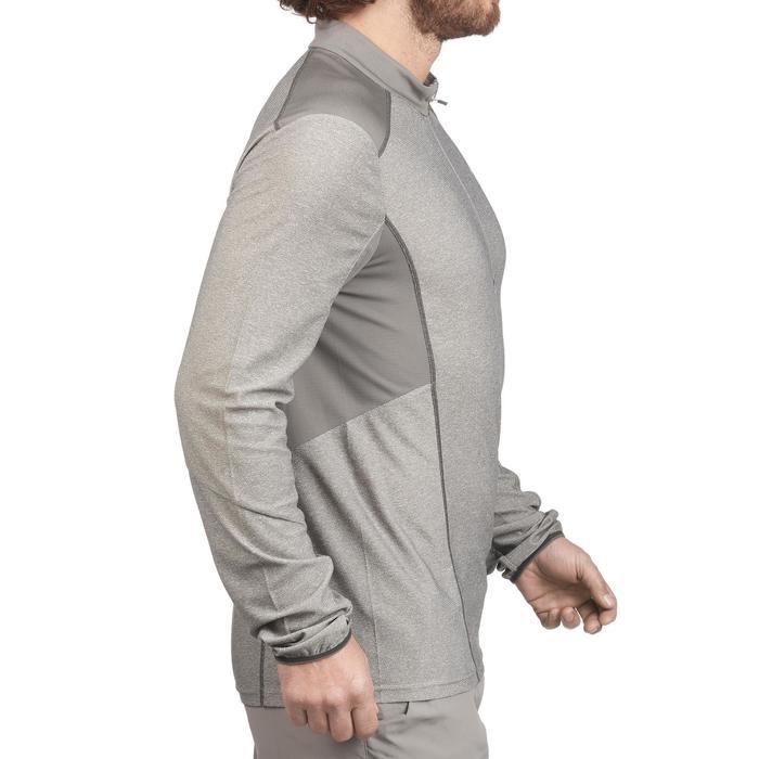 Tee Shirt Randonnée montagne MH550 manches longues 1/2zip homme - 1277901