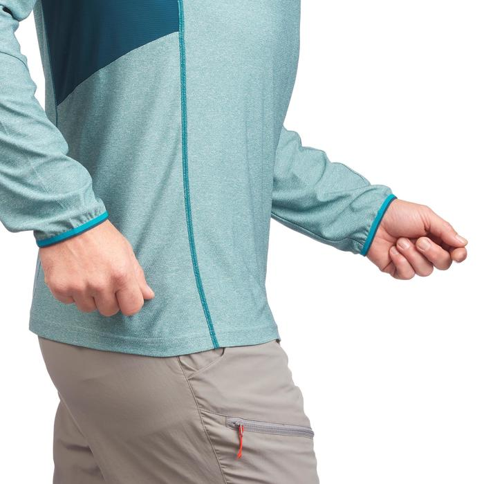 Tee Shirt Randonnée montagne MH550 manches longues 1/2zip homme - 1277911