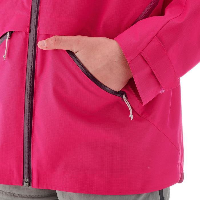 Chaqueta de senderismo júnior MH550 rosa