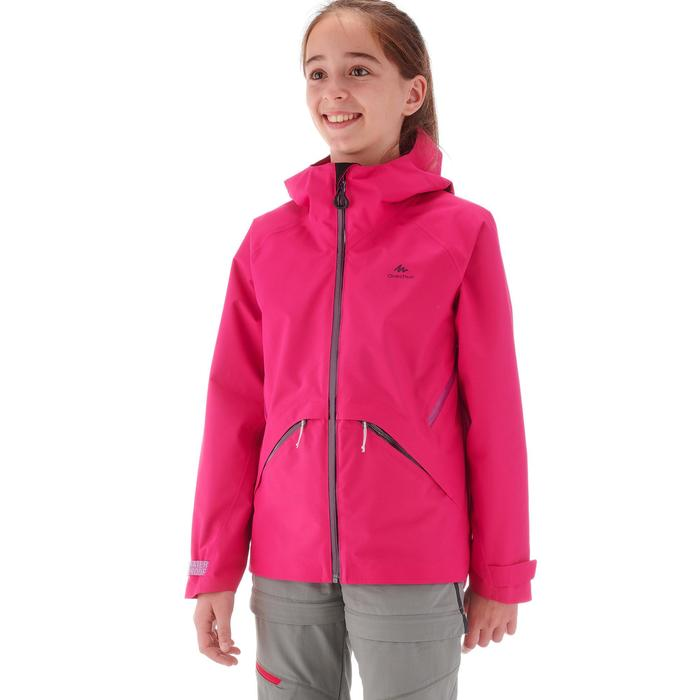 Wanderjacke Hike 900 Kinder rosa