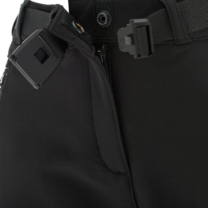 Pantalon chaud de randonnée femme SH500 x-warm stretch noir
