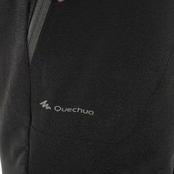 Women's warm hiking trousers SH500 x-warm stretch - black