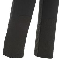 Warme wandelbroek dames SH500 X-warm stretch zwart
