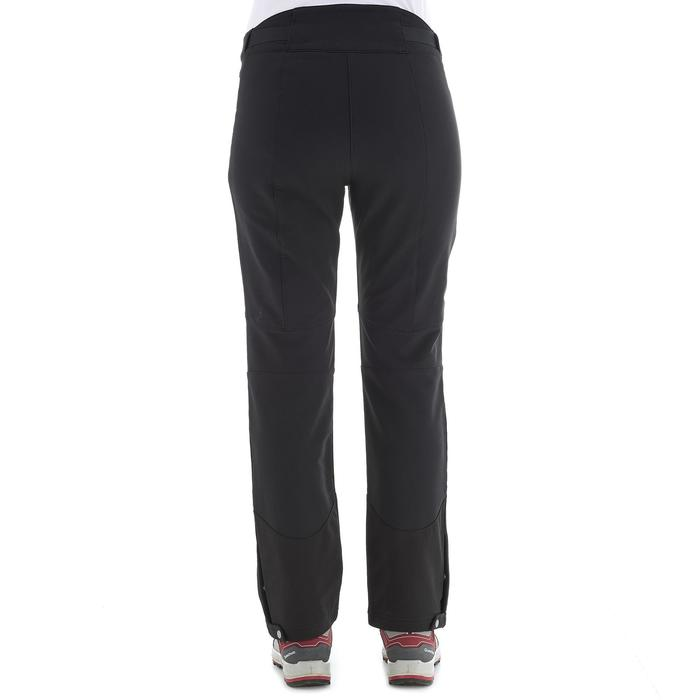 SH500 Women's x-warm stretch black snow hiking trousers - 1278077