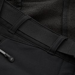 Pantalón de senderismo nieve mujer SH500 x-warm stretch negro