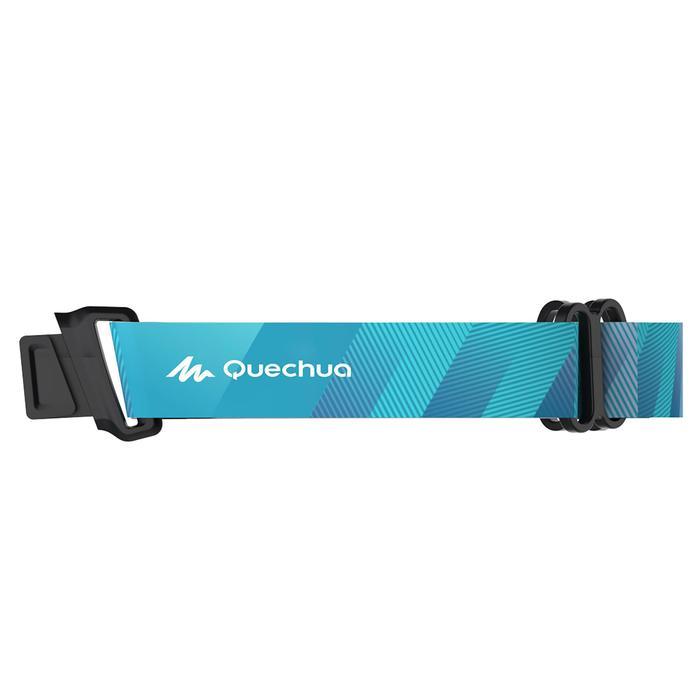 Lunettes de randonnée adulte MH 910 noires/bleues verres interchangeables cat4+2 - 1278082