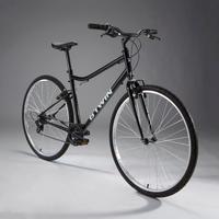 Riverside 100 Hybrid Bike - Black