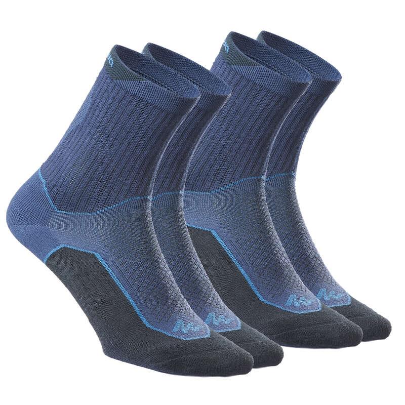 Túrazokni Túrázás - Zokni NH500 High, 2 pár QUECHUA - Cipő, bakancs, szandál