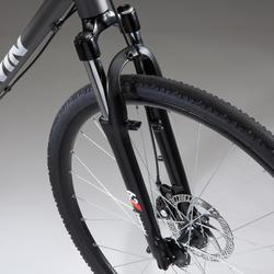 "Cross Bike 28"" Riverside 500 Alu grau"