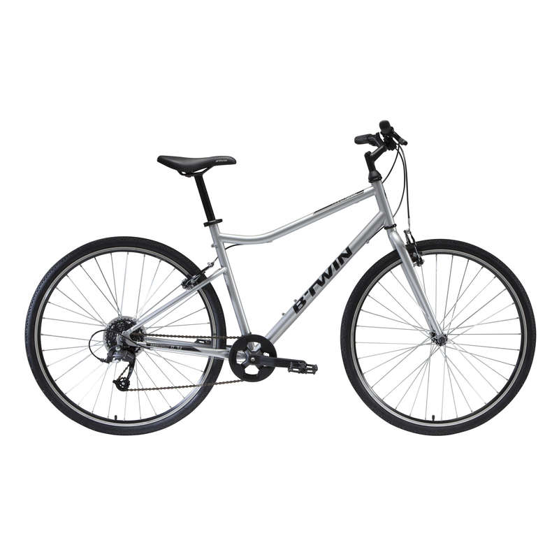 HYBRID TREKKING BIKE Cycling - Riverside 120 Hybrid Bike RIVERSIDE - Bikes