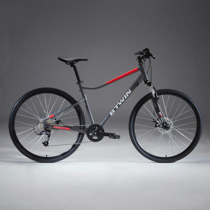 Cross Bike 28 Zoll Riverside 500 Alu grau