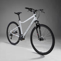 Riverside 500 Hybrid Bike - White