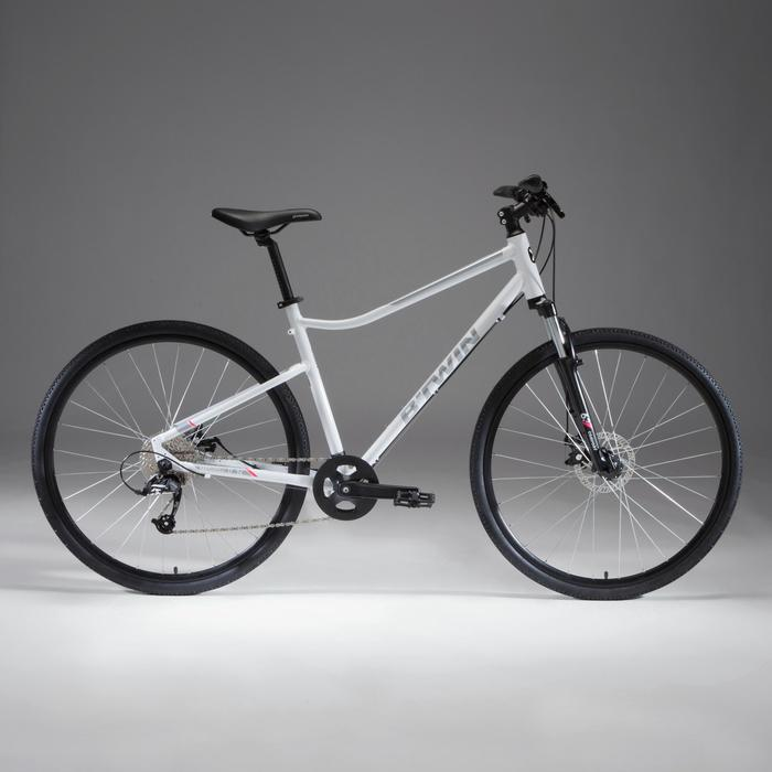 Cross Bike 28 Zoll Riverside 500 Alu weiß
