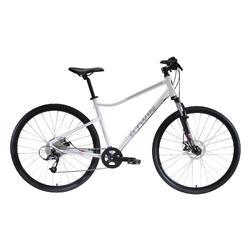 "Cross Bike 28"" Riverside 500 Alu weiß"