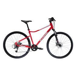 Hybride fiets Riverside 500 rood