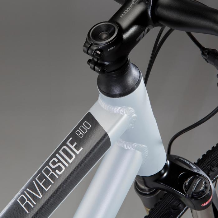 "Cross Trekkingrad 28"" Riverside 900 Alu grau"