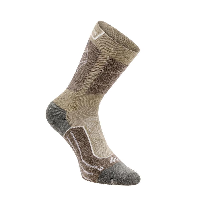 High Mountain Hiking Socks. MH 900 2 Pairs - beige