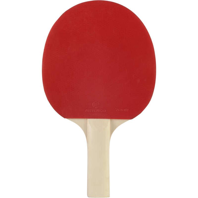 KÜLTÉRI ÜTŐK FÁBÓL/MŰANYAGBÓL Pingpong - Pingpongütő PPR 100 PONGORI - Pingponglabda, ütő, ütőfa, borítás
