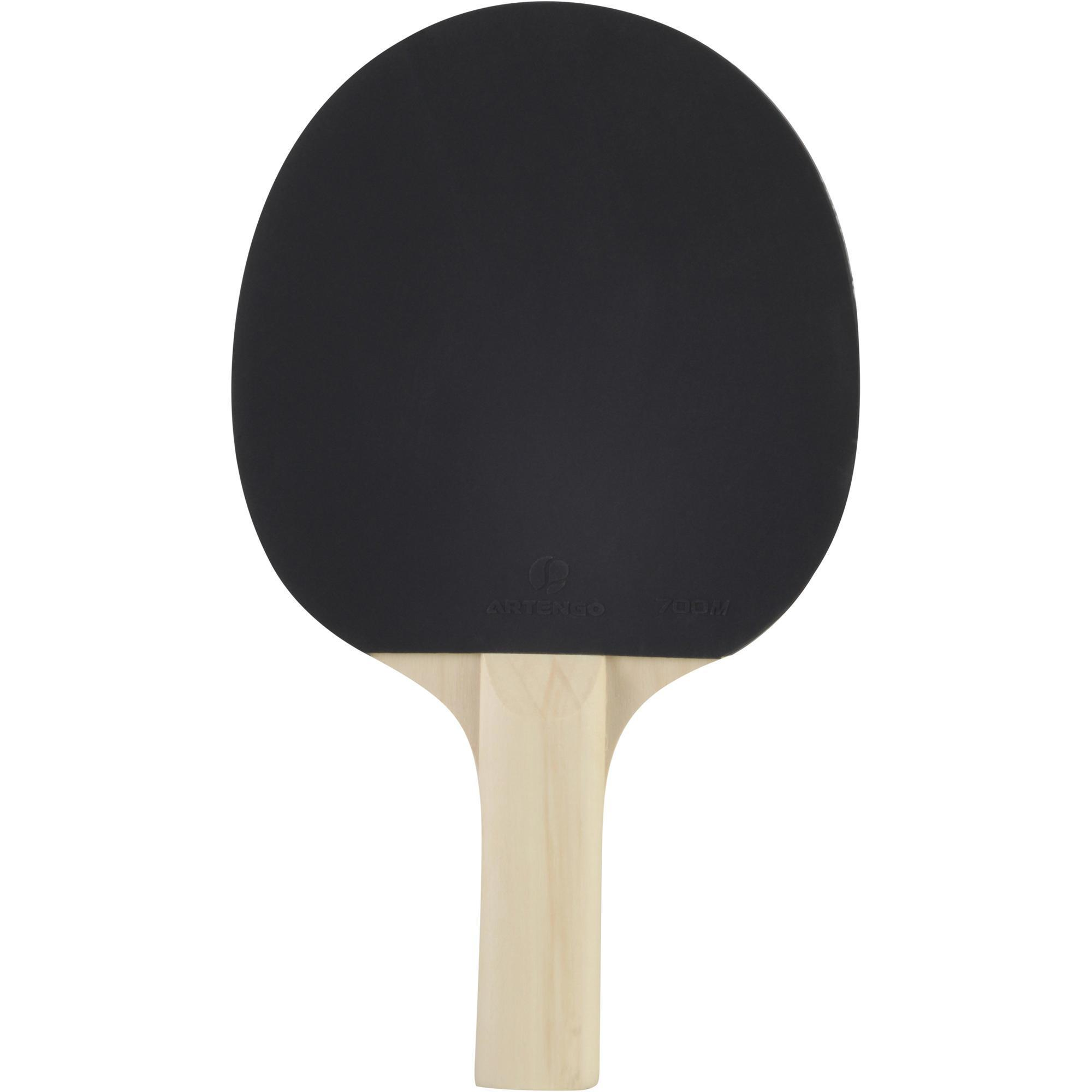 Raquette ping pong fr 700 tennis de table artengo - Revetement de raquette de tennis de table ...