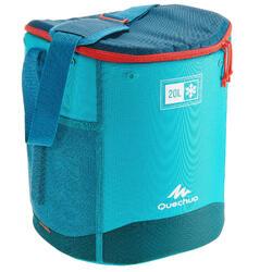 Nevera Senderismo Camping Quechua Compacta   20 L Azul