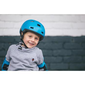 Kinderhelm voor skeeleren, skateboarden, steppen B100 blauw