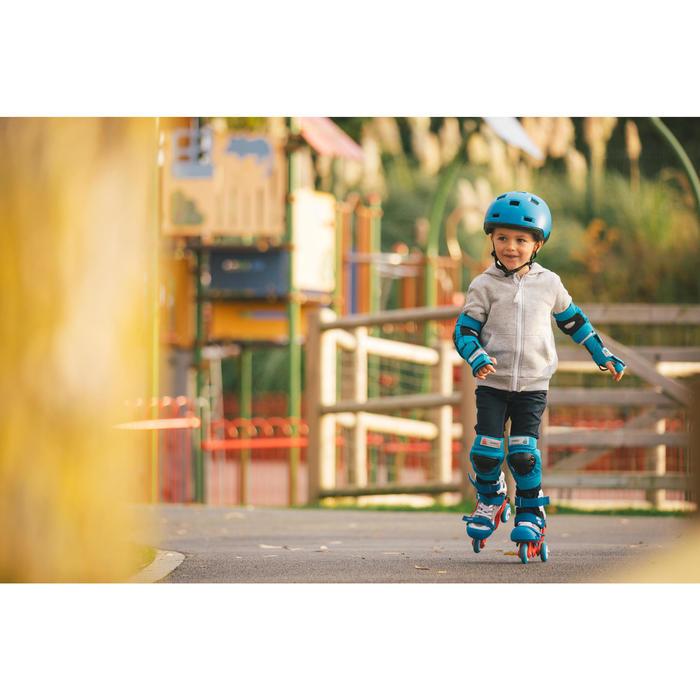 Basic Children's 3-Piece Protective Gear for Skates/Skateboard/Scooter - Blue - 1278706