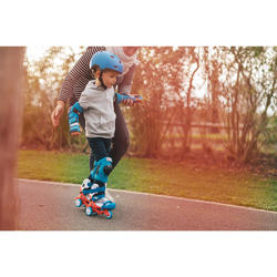 Basic Children's 3-Piece Protective Gear for Skates/Skateboard/Scooter - Blue