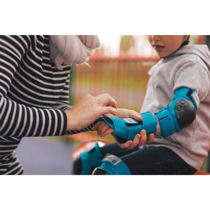 Basic Children's 3-Piece Protective Gear for Skates/Skateboard/Scooter - Blue - 1278743