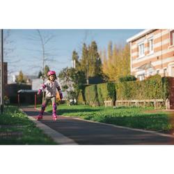 Patines en línea Fitness PLAY 3 Niños Rosa Violeta