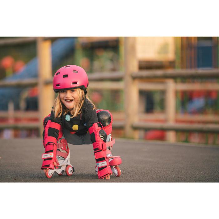 Basic Children's 3-Piece Protective Gear for Skates/Skateboard/Scooter - Blue - 1278750