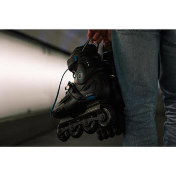 Roller freeride adulte  MF500 HardBoot noir bleu - 1278754