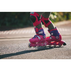 roller enfant PLAY3 rose violet