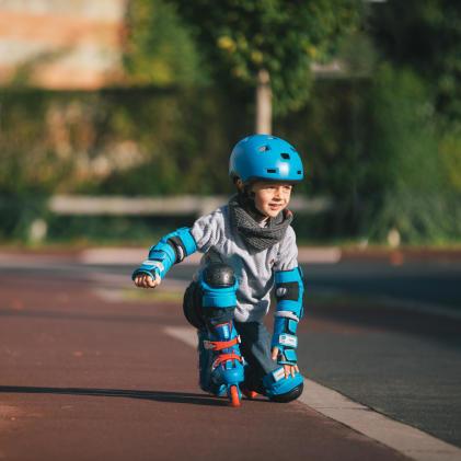 Apprendre le roller à votre enfant