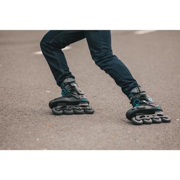 Roller freeride adulte  MF500 HardBoot noir bleu - 1278759