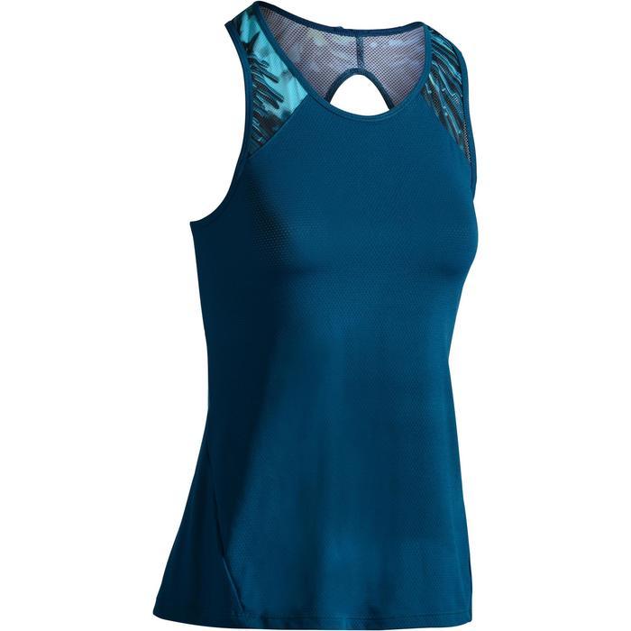 Débardeur fitness cardio femme 500 Domyos - 1278783