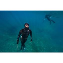 Rekbare Marseillaise gordel SPF 500 voor harpoenvissers die vrijduiken