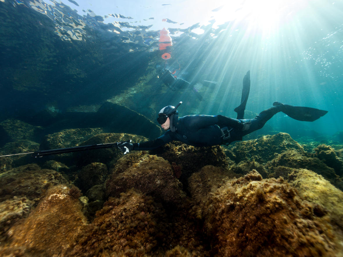 s'initier aux différentes techniques de chasse sous-marine avec Subea