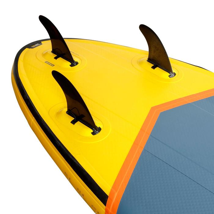 STAND UP PADDLE GONFLABLE SURF 500 / 9' JAUNE 175 L - 1278925