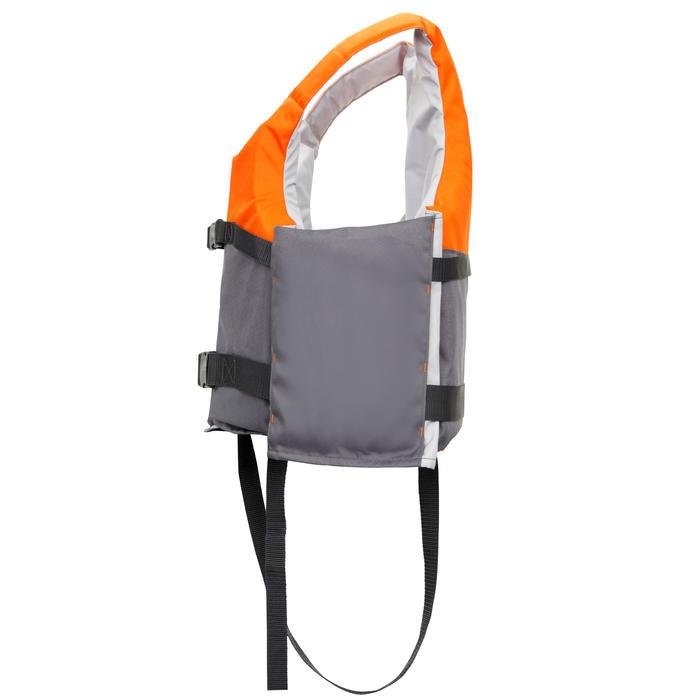 Chaleco Ayuda Flotación Kayak Stand Up Paddle Vela Ligera Itiwit 50N Naranja